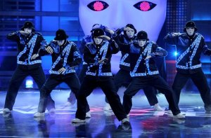 Jabbawockeez onstage at the Monte Carlo Resort and Casino