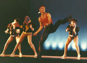 Angelo Moio performing with the Nevada Festival Ballet