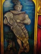 Detail of Amargosa Opera House murals