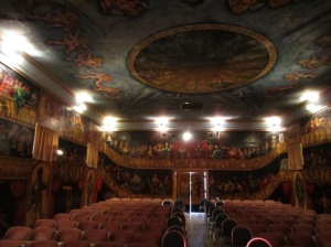 Amargosa Opera House, view of the house from the stage